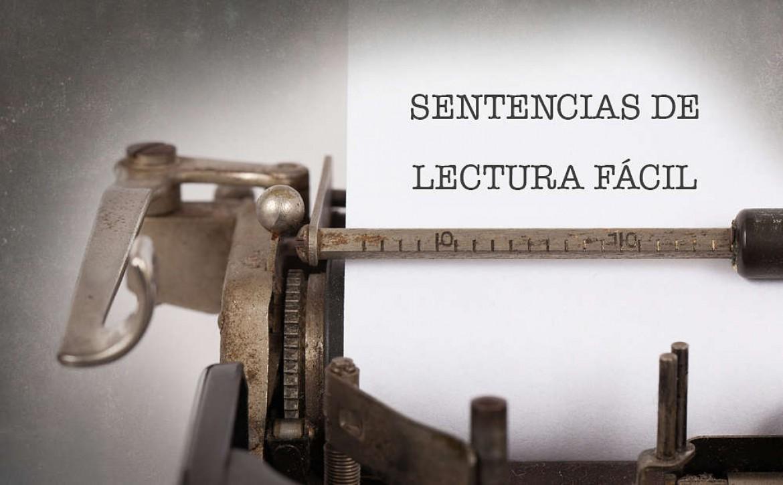 SENTENCIAS DE LECTURA FÁCIL